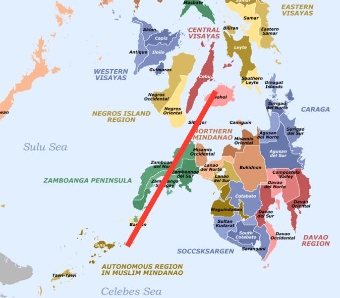 Map Visayas Philippines