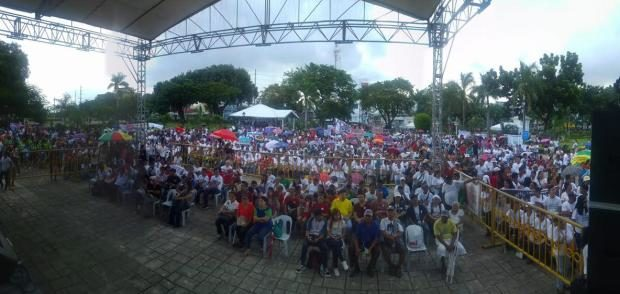 Image result for Duterte rally plaza independecia