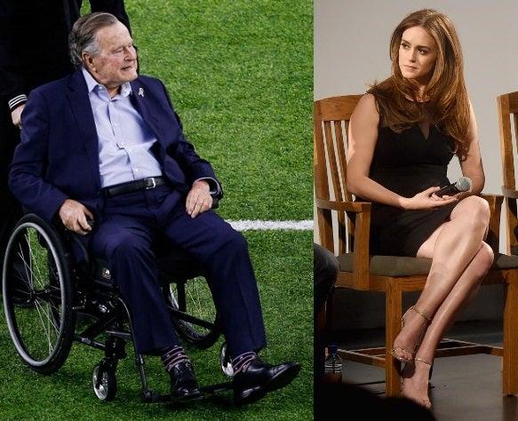 Image result for George HW Bush accused of rape