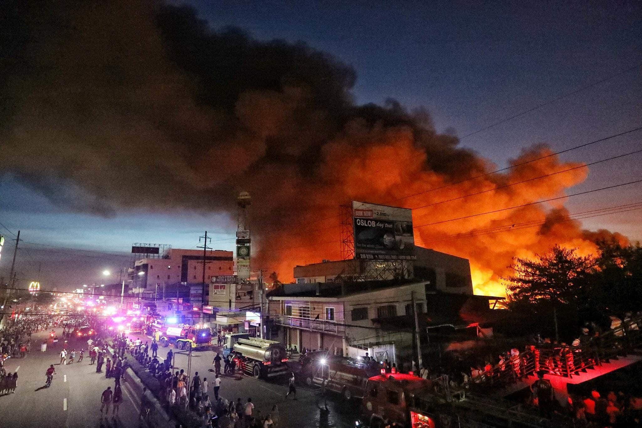 At least 300 houses razed in Lapu-Lapu City, Cebu fire-Philippines