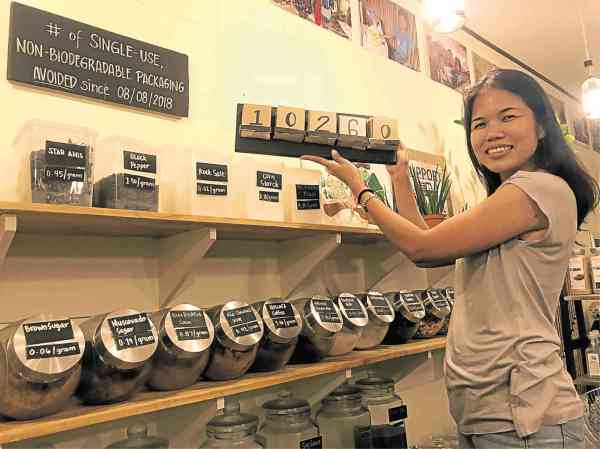Tiny Organic Store Aims Waste Inquirer