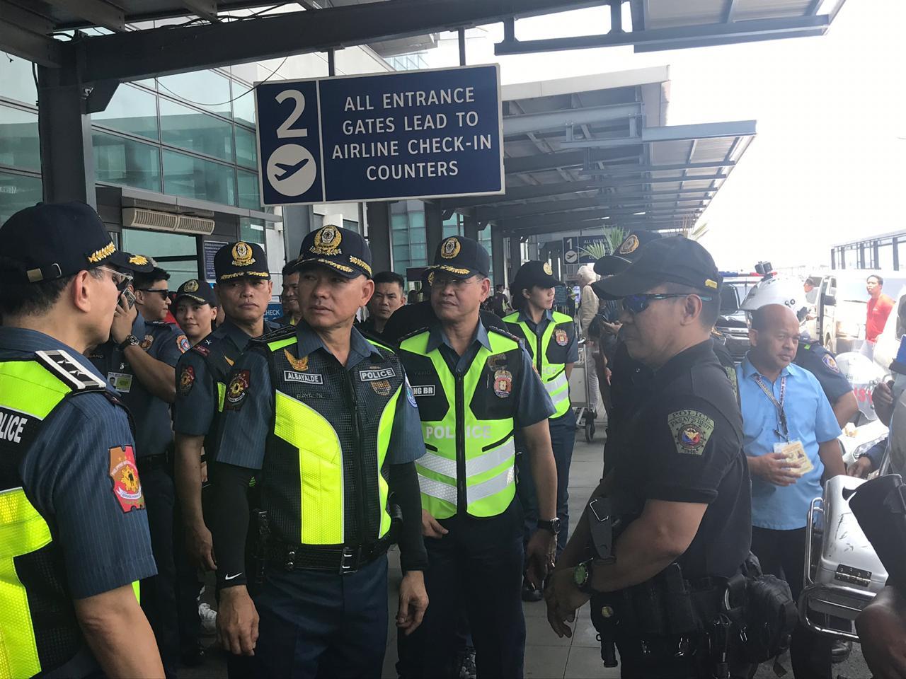 Top PNP officials assess security at PITX. Naia. Pasay bus terminals   Inquirer News