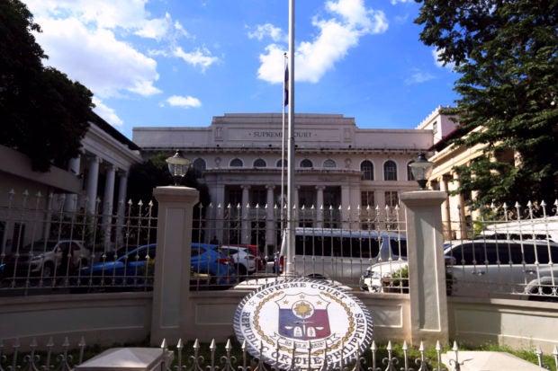 The Supreme Court building in Ermita, Manila.