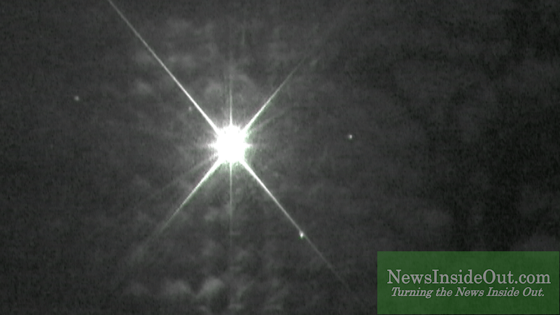 0 Lux Camera images 1 W Illuminator at 13 Miles