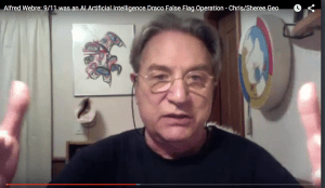 Alfred Lambremont Webre: 9/11 was an AI Artificial Intelligence-Entrained/Draco Event & False Flag Operation