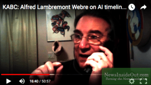 KABC: Alfred Lambremont Webre on AI timeline, San Bernardino false flag, Trump, 2016, Omniverse