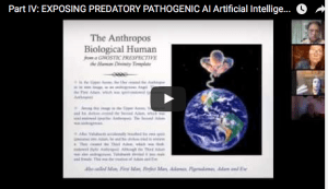 Watch PART IV – EXPOSING PREDATORY PATHOGENIC AI Artificial Intelligence ~ Restoring Love sourced Humanity. A multi-part Symposium.  Part V coming soon!