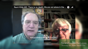 Alfred Webre with Dr. Rauni Kilde