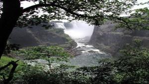 Time-Free Transparent World Victoria Falls