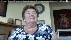 Consuelo Golmar: Mi tortura por implantes, armas de energia remota e inteligencia artificial AI. Spanish TI – My Transhumanist agenda torture via implants, remote directed energy weapons and AI Artificial Intelligence