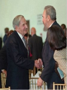 David Rockefeller & Fidel Castro