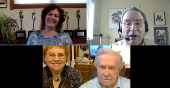 """Everyone is everywhere"" How non-local Love consciousness powers a free energy New Earth: Ralph & Marsha Ring with Host Patty Greer"
