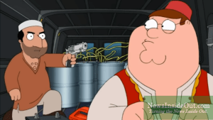 Peter Griffin as Deep State Operative