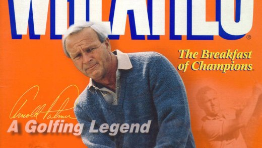 A commemorative Wheaties box featuring Arnold Palmer. (Business Wire photo)