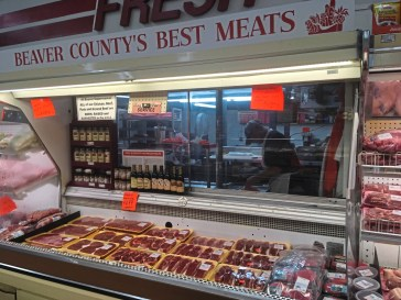The Beaver Super Market is best known for its meats - both the taste and the price. Steaks can be had for half the price being charged at most groceries. (Karen Kane/Post-Gazette)