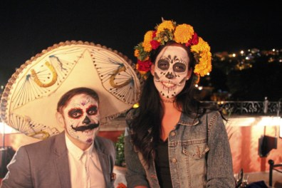 Distinction Day of the Dead participants San Miguel de Allende, Mexico credit Patricia Sheridan
