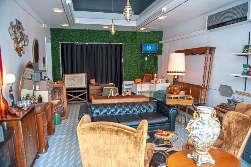 Heist in Dormont specializes in vintage and antique decor. (Andrew Stein/Post-Gazette)