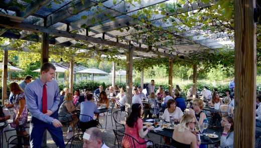 UnWined, a fundraiser for Children's Hospital of UPMC, at La Casa Narcisi Winery in Gibsonia on Tuesday, Aug. 2, 2016. (Michael Henninger/Post-Gazette)