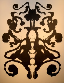 Rorschach, 1984 at the Andy Warhol Museum. (Pam Panchak/Post-Gazette)