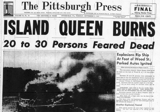 The Pittsburgh Press edition on Sept. 10th, 1947