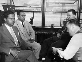 John Bazzano, second from left, in an undated photo. (Photo credit: Unknown)
