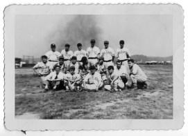 Undated photograph of Kollar Club baseball team. (Photo courtesy Kollar Club)