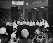 Kollar Glee Club performing in 1955. (Photo courtesy Kollar Club)