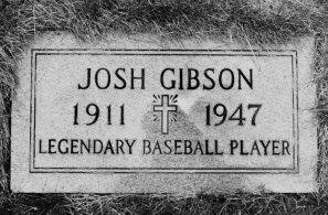 Gibson is buried in Allegheny Cemetery. (James Klingensmith/Post-Gazette)