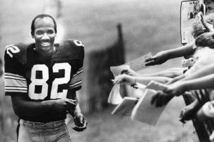 John Stallworth, 1987 (Marlene Karas/The Pittsburgh Press)