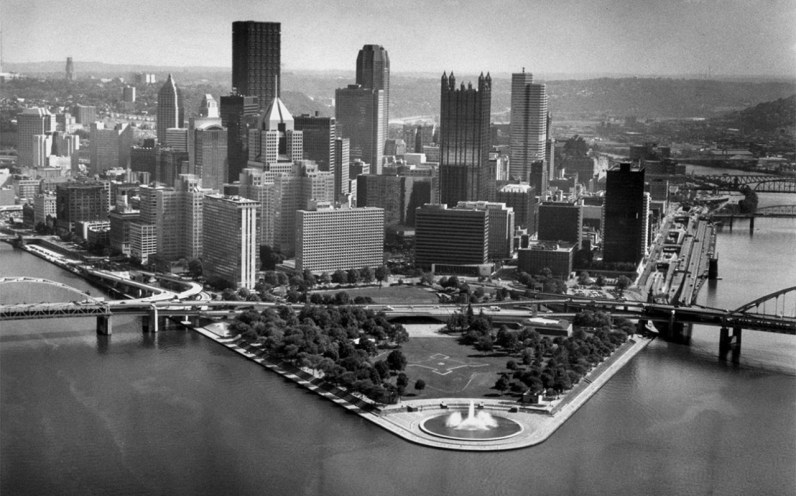 Point State Park in 1991. (Post-Gazette)
