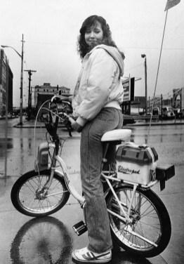 1981 -- an electroped (Photo by Bill Levis/Post-Gazette)