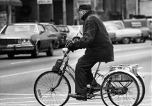 1974 -- a shopper on a bicycle in Beaver County