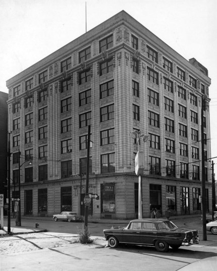 The building as it looked in the 1950s. (Photo credit: Unknown)