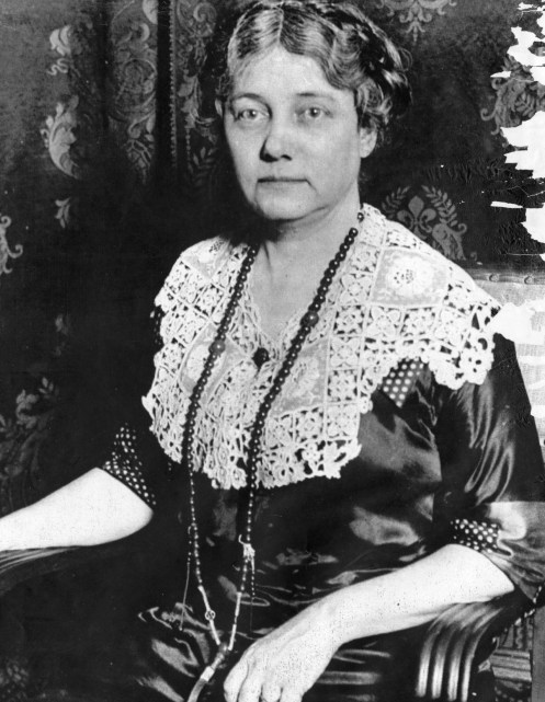 Bly in her later years. (Photo credit: Unknown)