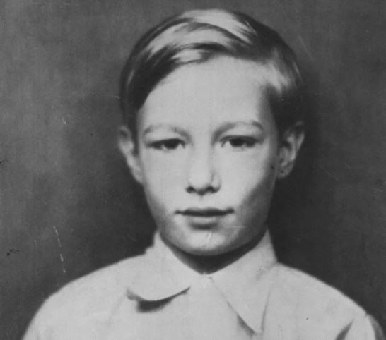 Andy Warhol, between seven and nine years old, circa 1935. (Credit: Andy Warhol Foundation for the Visual Arts)