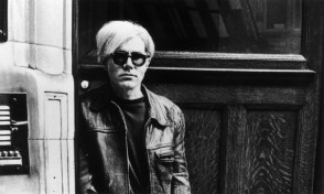 Andy Warhol outdoors. (Credit: Hulton Archive/Getty Images)