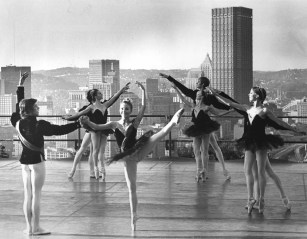 1975: Pittsburgh Ballet Theater in Grandview Park. (Andy Starnes/The Pittsburgh Press)