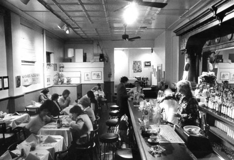 Interior ofWild Sisters, a restaurant and bar for women located on the South Side at 27th and Jane streets. (Post-Gazette photo)
