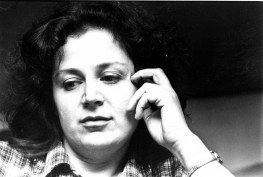 October 11, 1980: Jane Allyson - the woman who claims to have had communication with a man from the sun - at a UFO Convention at the YMCA in Downtown Pittsburgh.