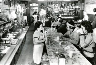 At Primanti Bros. in the Strip, 1979, Morris Berman/Post-Gazette