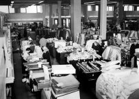 Interior of the store in 1953. (Photo credit unknown)