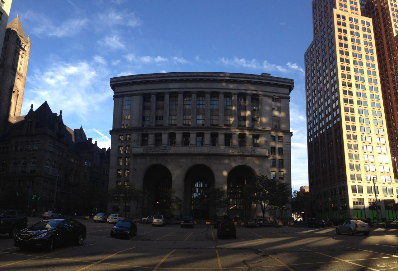 2014: The City-County Building on Grant Street in Downtown Pittsburgh. (Ethan Magoc/Post-Gazette)