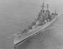 Oct. 11, 1955: The third USS Pittsburgh (CA-72). (Handout/U.S. Navy)