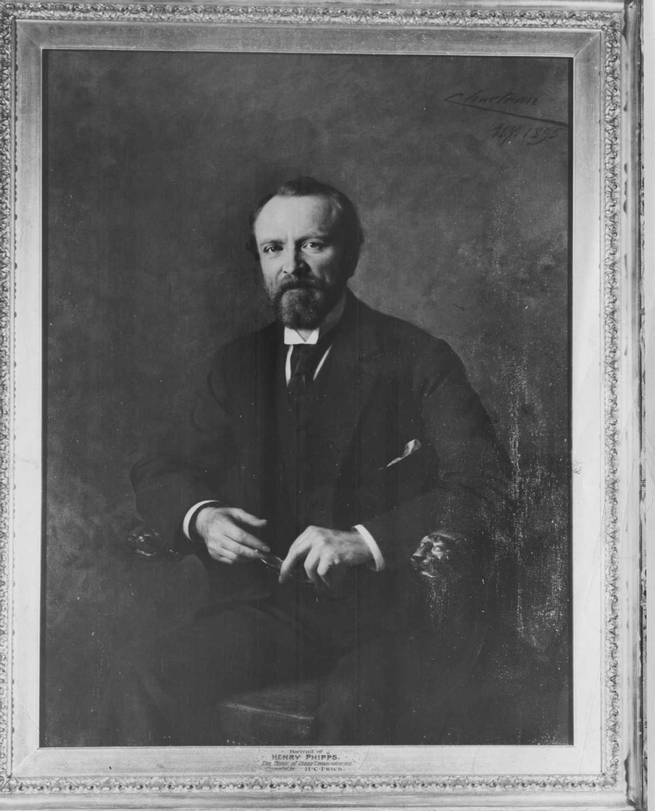 Henry Phipps gave Phipps Conservatory and Botanical Gardens to the city of Pittsburgh in 1893.