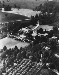 This 160-acre estate on Long Island belonged to the son of Henry Phipps. Now known as Westbury House & Gardens, it is open to the public.