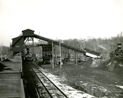 Jimmy's backyard turned into a full-blown extraction site (January 25, 1948, Pittsburgh Press)