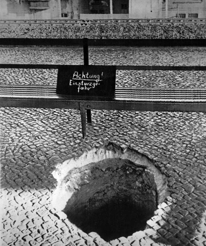 East Berlin authorities discovered this tunnel leading to the west in 1962. (Associated Press)