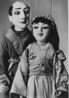 These are two of the marionettes that appeared in the Beauty and the Beast.