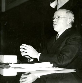 Judge James L. O'Toole Jr. of the Superior Court of Pennsylvania's western district. He is shown here in 1937 as Pittsburgh's City Council president. He heard the Contillos' case in January 1945. (The Pittsburgh Press)
