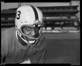 In five season with the Steelers, Jack Nisby became a Pro Bowler at offensive line and a community leader. He worked with the Pittsburgh Courier to ensure that companies doing business with the Steelers had equitable employment practices. He died at age 74 in 2011.